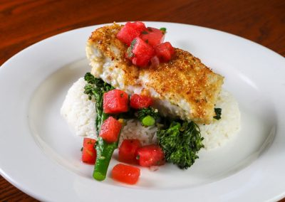 Butter Crusted Halibut